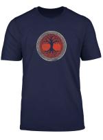 Wikinger Baum Yggdrasil Wotan Norse Mythology T Shirt