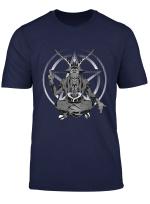 Occult Satan Satanic Pentagram Dark Demonic Heavy Metal T Shirt