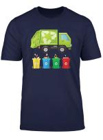 Garbage Truck Shirt For Boys Girls Men Women Kids T Shirt