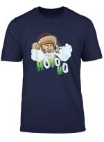 Vaping Santa Claus Does Cloud Tricks At Christmas T Shirt