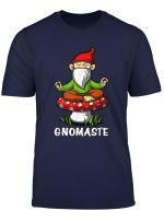 Gnomaste Yoga Gnome Zen Meditation Buddha Namaste Fantasy T Shirt