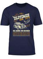 Geschenk Zum 40 Geburtstag Jahrgang 1979 Juli 40 Jahre T Shirt