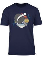 Tischtennis Ping Pong Tischtennisschlager Vintage T Shirt