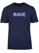 Rave Outfit Trippy Raver Edm Festival Kleidung Acid Techno T Shirt