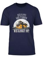 Ich Kann Bus Fahren Was Kannst Du Omnibus Fahrer T Shirt