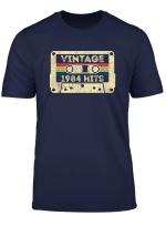 Vintage 1984 36Th Birthday Cassette T Shirt