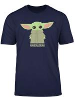 Star Wars The Mandalorian The Child Stance Portrait T Shirt