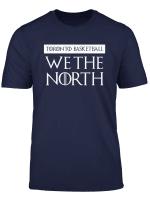 We The North Canada Toronto Canada Basketball Tees T Shirt