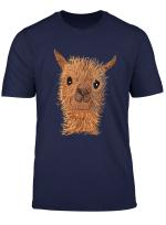Alpaca Lama Shirt Cute Alpaca Cute Alpaca Shirt