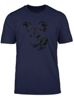 Painted Dog T Shirt For Wild Dog Supporters