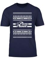 Disney Pixar Toy Story Christmas Pizza Planet Print T Shirt