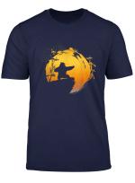 Kung Fu Panda Po Tai Chi Sunset Silhouette T Shirt