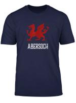 Abersoch Wales Welsh Flag Cymru T Shirt