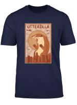 Otter Zilla Shirt Animal Women Men Kids Gift Love Art Outfit