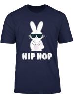 Funny Hip Hop Bunny With Sunglasses Cute Easter T Shirt