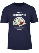 I Bin A Schafkopfer Schafkopf Kartenspiel Herren T Shirt