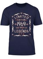 Geboren 1969 T Shirt Lustiges Geschenk Zum 50 Geburtstag