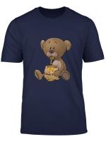 Teddy Bar Honig Barchen Comic T Shirt