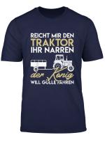 Landwirt Farmer Bauernhof Trecker Traktor Spruch T Shirt
