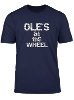 Manchester Ole S At The Wheel T Shirt