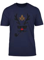 Freemason Mason Raindeer Freemason Raindeer Christmas Gift T Shirt