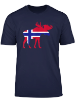 Elch Norwegen T Shirt
