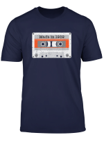 Vintage Made In 1989 80S Mix Tape Music Cassette Birthday T Shirt