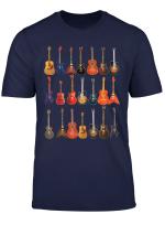 Cute Guitar Rock N Roll Musical Instruments Shirt Gift