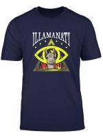 Illamanati Funny Illuminati Llama T Shirt