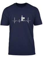 Wein Herzschlag T Shirt Ekg Weintrinker Weinliebe Geschenk T Shirt