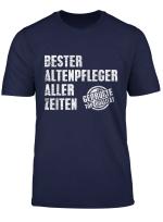 Herren Alten Pflege Und Kranken Pfleger Spruche T Shirt