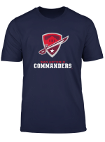 Vintage San Antonio Football Commanders T Shirt For Fans