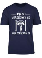 Herren Kfz Meister Autoschrauber Kfz Mechaniker Garage Geschenk T Shirt