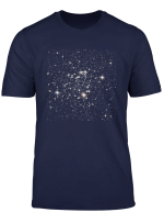 Outer Space Stars Print T Shirt