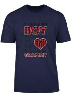 Womens This Boy Who Kinda Stole My Heart He Calls Me Grammy Tshirt