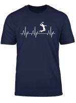 Beach Volleyball Sport Herzschlag T Shirt Beachvolleyball