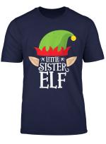 Little Sister Elf T Shirt Weihnachten Passende Familie Schlafanzuge