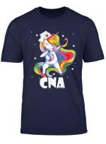 Dabbing Unicorn Nurse Tshirt Funny Cna Gifts