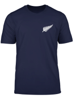 Rugby T Shirt New Zealand Silver Fern Nz Gift Tee
