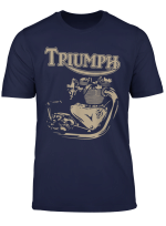 New Triumph Engine Motorcycle Cycling T Shirt
