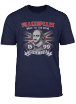 William Shakespeare Bard To The Bone Book Lover World Tour T Shirt