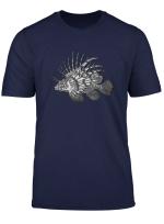 Speichern Sie Die Riffe Lowenfisch Scuba Diver Free Sea T Shirt