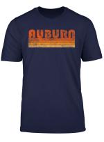 Vintage Retro Auburn Alabama T Shirt