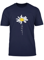 Let It Be Hippie Daisy Flower T Shirt Gift For Women