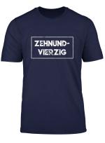Zehnundvierzig Lustiges Geschenk Zum 50 Geburtstag Fun T Shirt