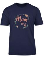 Damen Mom To Be Werdende Mama Schwangerschaft Schwanger Baby T Shirt