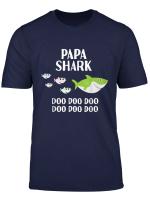 Mens Papa Shark Doo Doo Shirt For Matching Family Tshirts
