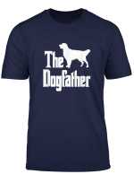 The Dogfather Golden Retriever Funny Dog Owner T Shirt