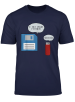 Usb Floppy Disk I Am Your Father Funny Nerd Geek T Shirt