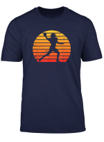 40Yards American Football Retro Sonnenuntergang T Shirt